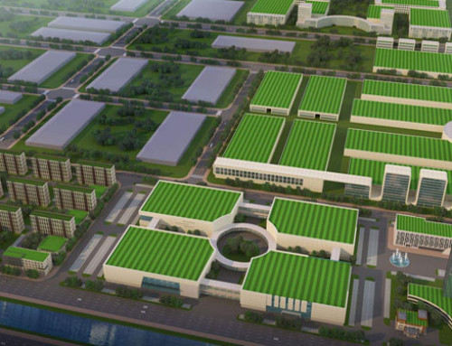 Shandong Lacey ultra-low energy passive green building industrial park