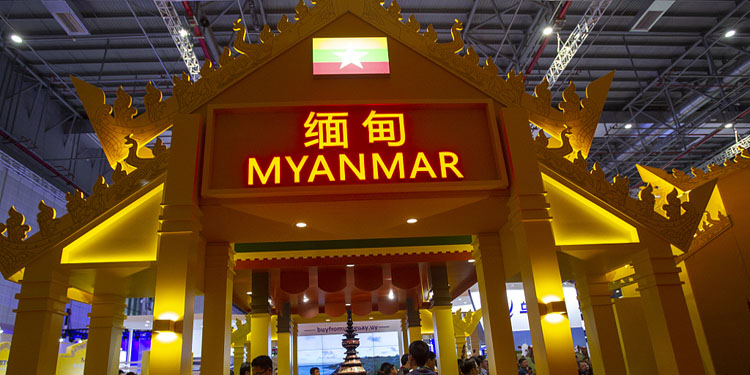 Myanmar-China border trade fair